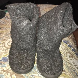 Authentic Gray Uggs Boots